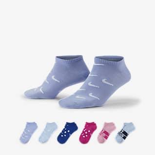 Nike Everyday Lightweight Calcetines de entrenamiento invisibles (6 pares)