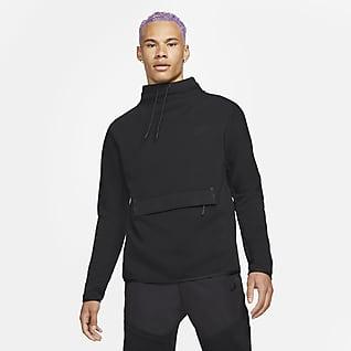 Nike Sportswear Tech Fleece Sudadera con cuello de embudo de manga larga para hombre