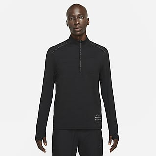 Nike Dri-FIT Element Run Division Ανδρική μπλούζα για τρέξιμο