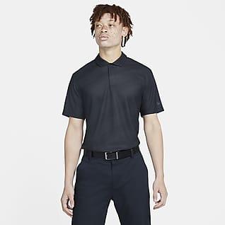 Nike Dri-FIT Tiger Woods Polo de golf a rayas para hombre