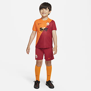 Galatasaray de local 2021/22 Kit de fútbol para niños talla pequeña