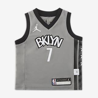 布鲁克林篮网队 (Kevin Durant) Statement Edition Jordan NBA Replica Jersery 婴童球衣