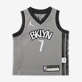 布鲁克林篮网队 (Kevin Durant) Statement Edition Jordan NBA Replica Jersery 婴童球衣