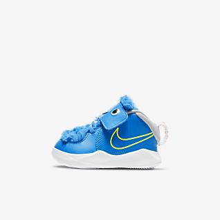 Nike Team Hustle D 9 Fast n Furry รองเท้าทารก/เด็กวัยหัดเดิน