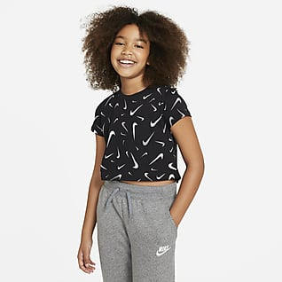 Nike Sportswear Rövid szabású póló nagyobb gyerekeknek (lányok)