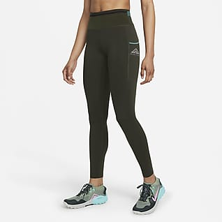Nike Epic Luxe Trailrunninglegging met halfhoge taille voor dames
