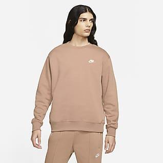 Nike Sportswear Club Fleece Kerek nyakkivágású férfipulóver
