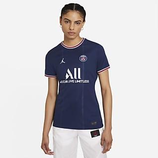 Paris Saint-Germain 2021/22 Stadium (hemmaställ) Fotbollströja för kvinnor
