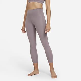 Nike Yoga เลกกิ้งเอวสูง 7/8 ส่วนผู้หญิง