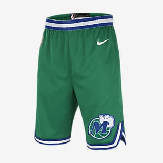 Dallas Mavericks Classic Edition Nike NBA-rövidnadrág nagyobb gyerekeknek (fiúk)
