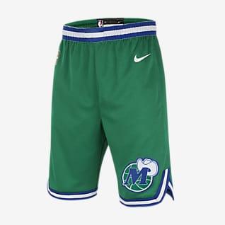 Dallas Mavericks Classic Edition Spodenki dla dużych dzieci (chłopców) Nike NBA Swingman