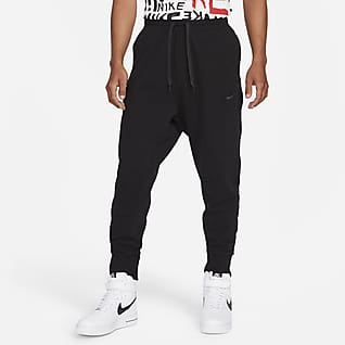 Nike Sportswear Pantalones de tejido Fleece clásico para hombre