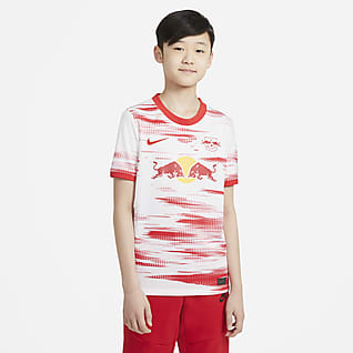 RB Leipzig 2021/22 Stadium Home Older Kids' Football Shirt