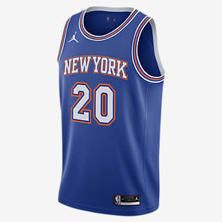 Kevin Knox Knicks Statement Edition 2020 Jordan NBA Swingman Jersey