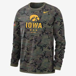 Nike College Dri-FIT (Iowa) Men's Long-Sleeve Sweatshirt