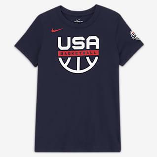 USAB Женская баскетбольная футболка для тренировок