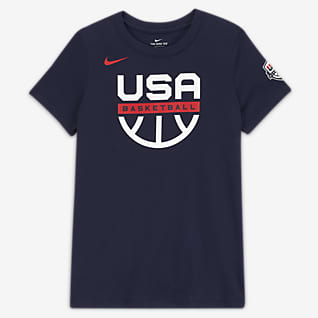 USAB Tee-shirt d'entraînement de basketball pour Femme