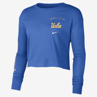 Nike College (UCLA) Women's Long-Sleeve Crop Sweatshirt