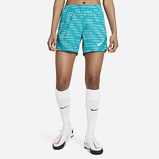 Nike Dri-FIT Strike Dámské pleteninové fotbalové kraťasy