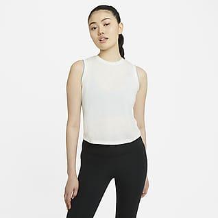 Nike Yoga Crochet-Edge 女子背心