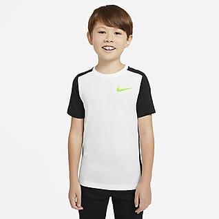 Nike Instacool Kortermet treningsoverdel til store barn (gutt)