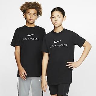 Nike Dri-FIT Los Angeles Playera para niños talla grande