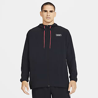 Nike Sport Clash Мужская куртка с молнией во всю длину для тренинга