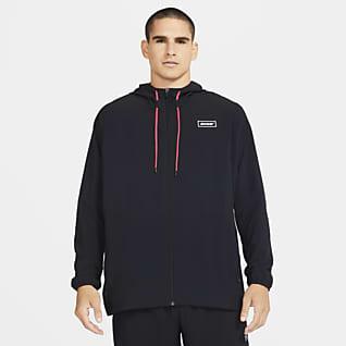 Nike Sport Clash Träningsjacka med hel dragkedja för män