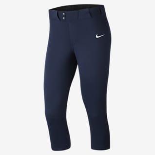 Nike Vapor Select Pantalones de softball para mujer largo 3/4