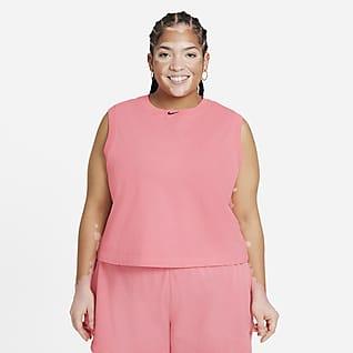 Nike Sportswear Camiseta de tirantes lavada para mujer (talla grande)