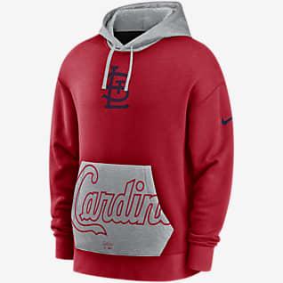 Nike Heritage (MLB St. Louis Cardinals) Men's Pullover Hoodie