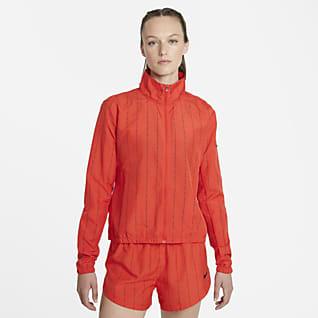 Nike Dri-FIT Icon Clash Löparjacka för kvinnor