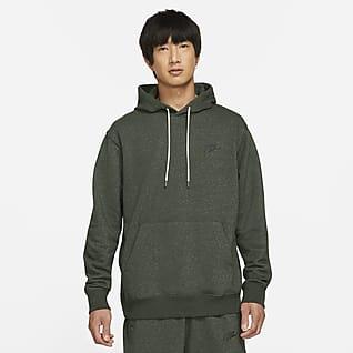Nike Sportswear Kapucnis, belebújós férfipulóver