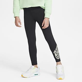 Nike Leggings med grafik til mindre børn