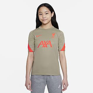 Liverpool FC Strike เสื้อฟุตบอลแขนสั้นเด็กโต