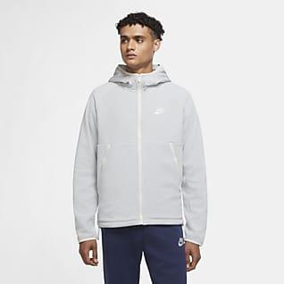Nike Sportswear Tam Boy Fermuarlı Erkek Kapüşonlu Üst