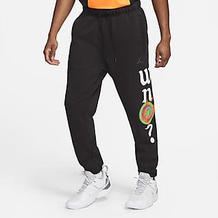 Jordan Why Not? Męskie spodnie z dzianiny