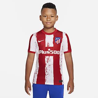 Atlético Madrid 2021/22 Stadium Home Older Kids' Football Shirt