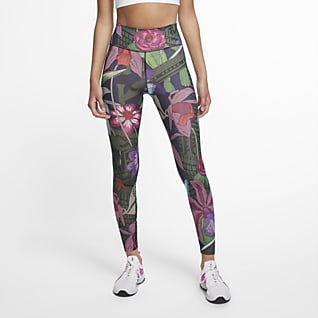 Nike One Icon Clash 女款印花緊身褲
