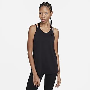 Nike Dri-FIT Damska koszulka treningowa bez rękawów