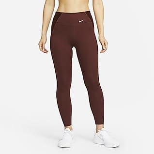 Nike Dri-FIT One Luxe Icon Clash 7/8 女子中腰紧身裤