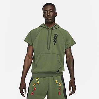 Jordan Dri-FIT Zion Męska bluza z kapturem i odciętymi rękawami