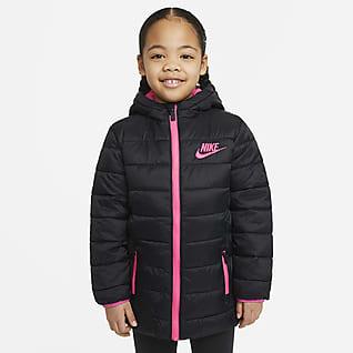 Nike Parka de cierre completo para niños talla pequeña