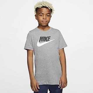 Nike Sportswear Playera de algodón para niños talla grande