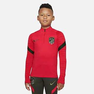 Atlético Madrid Strike Haut d'entraînement de football Nike Dri-FIT pour Enfant plus âgé