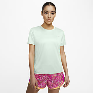 Nike Miler Camiseta de running de manga corta para mujer