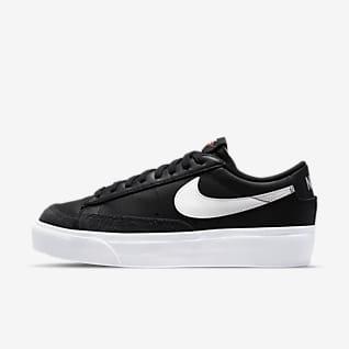 Nike Blazer Low Platform Schuhe für Damen