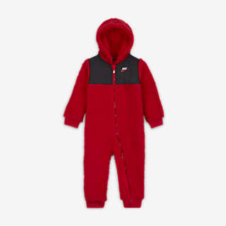 Nike Baby (12-24M) Full-Zip Fleece Coverall