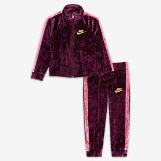 Nike Toddler Crushed Velour Tracksuit