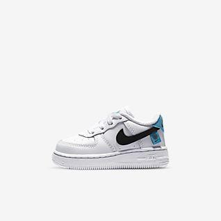 Babys und Kleinkinder Kinder Air Force 1 Schuhe. Nike DE